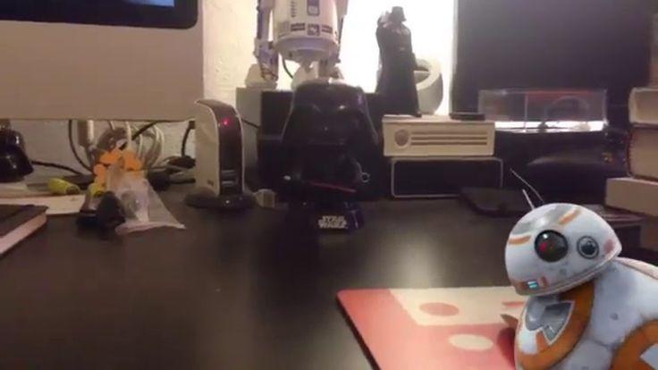 Sphero bb8 Vs Darth Vader