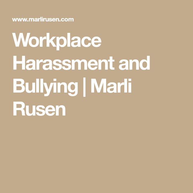 The  Best Workplace Harassment Ideas On   Workplace