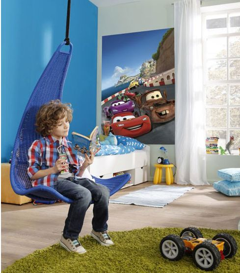 Disney Cars 'Italy' Photo Wall Mural 127 x 184 cm https://www.facebook.com/PriceRightHomeDiscountCode