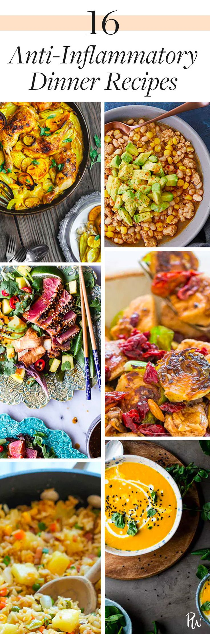 16 Dinner Recipes To Help Kick Inflammation To The Curb