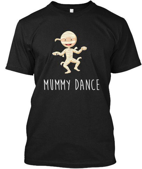 Funny Mummy Dance Emoji Humor T-Shirt