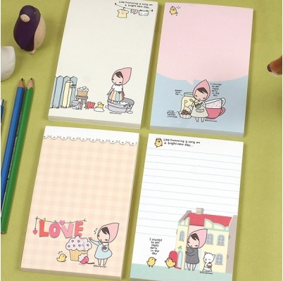 A Bright New Day Memo Pad