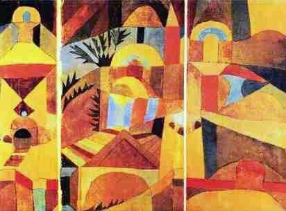 1920 Paul Klee (1879-1940). Temple Garden.