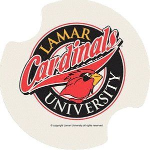 Set of Two Lamar University Carster Car Drink Coasters - Style DLMU by Thirstystone. $9.99. Set of 2 Absorbent Coasters for your Car. 2 Fingertip grips for easy removal from cup holder. 2.5 inches in diameter. Fits most cars, trucks, and SUVs. Printed and Packaged In The USA. Description:Set of 2 Absorbent Coasters for your Car2 Fingertip grips for easy removal from cup holderFits most cars, trucks, and SUVsPrinted and Packaged In The USA2.5 inches in diameter