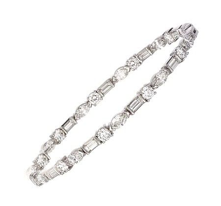 Xoxo Diamond Bracelet Bc60023 14kw Dia together with Sapphire 8 Ct  T w besides Id J 1022752 moreover Ivanka Trump also Mixed Cut Collection. on emerald cut diamond tennis bracelet