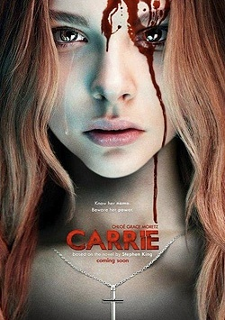 """Horror Junkie: """"Carrie"""" and Horror Remakes...Yes or No? - Lots of original horror films are out around this time of year, most recently Sinister (read Alex's review here). Even the kids are entertained with Hotel Transylvania. Then there are the remakes, such as Carrie. I got to thinking, why do horrors get remade? Surely one asset of horror is narrative, with unexpected twists happening (with the exception of slasher films; we all know they're going to die). #Carrie #Vlizzards"""