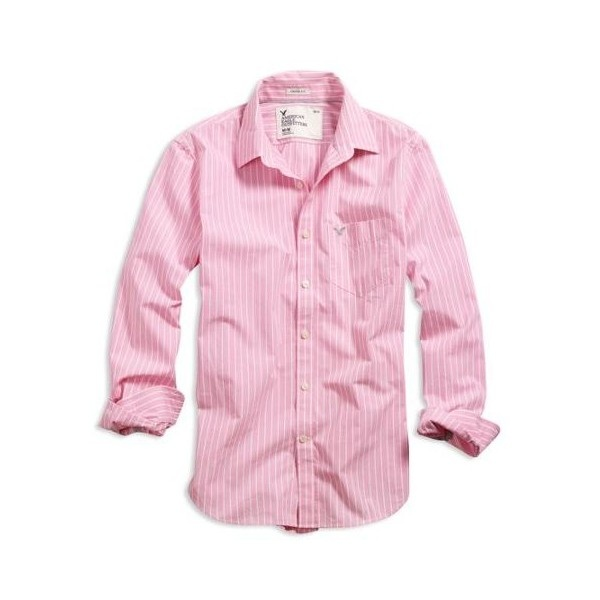 american eagle ae men 39 s striped shirt pink found on