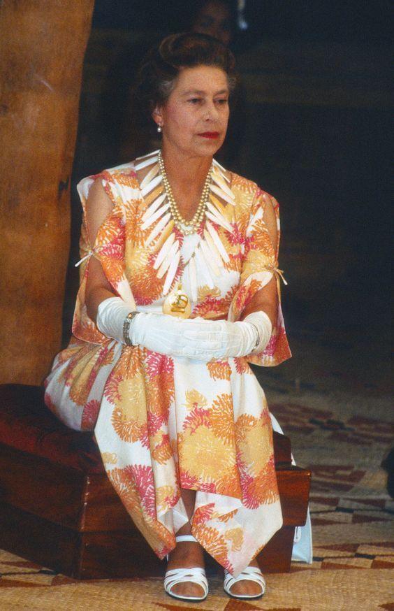 Queen Elizabeth II,1982