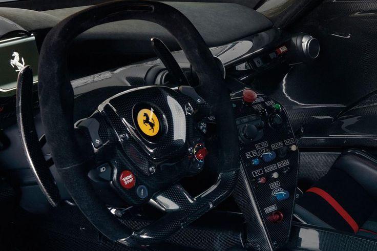 Ferrari Laferrari Fxxk Dash And Formula Style Steering Wheel