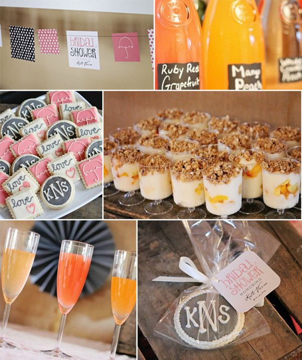 rustic and elegant bridal shower brunch ideas 2014 #weddingshower #elegantweddinginvites