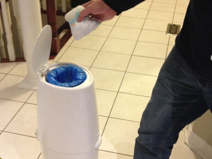 How to save money on Diaper Genie refills. Or use diaper genie with compostable bio-bags!
