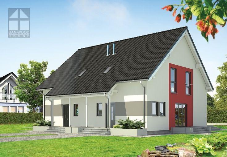 Doppelhäuser Danwood Partner 107 || #doppelhauser || http://www.danwood.de/hauser/doppelhauser/partner-107