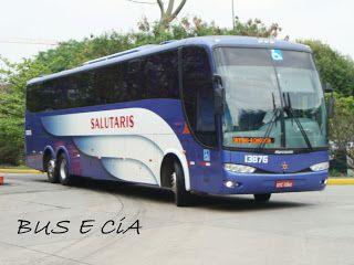 Bus & Cia: EMPRESA SALUTARIS ONIBUS 13876 RODOVIARIA DE SÃO PAULO SP