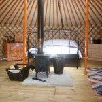 Glamping with Somerset Yurts near Taunton, Somerset
