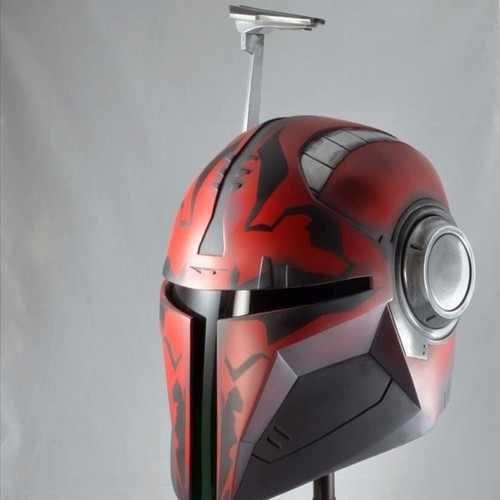 Darth Maul mandolorian helmet
