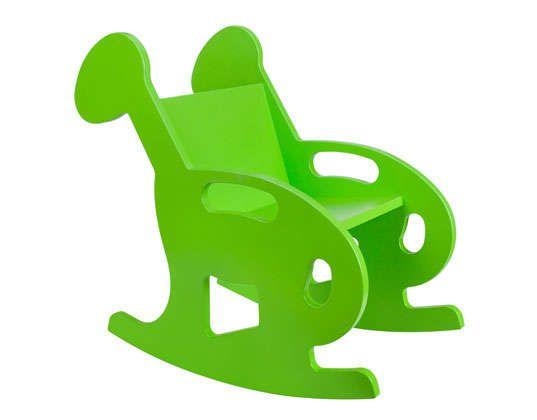 Животное Силуэт кресла-качалки: Мэнни и Саймон Деревянные Rockers