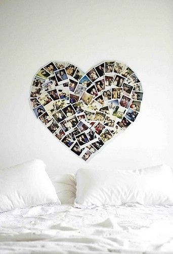 This is a very good idea, because I can show some beautiful pictures that I take and I can decorate my room.