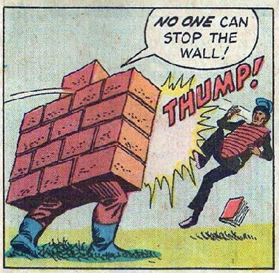 No one can stop the wall!