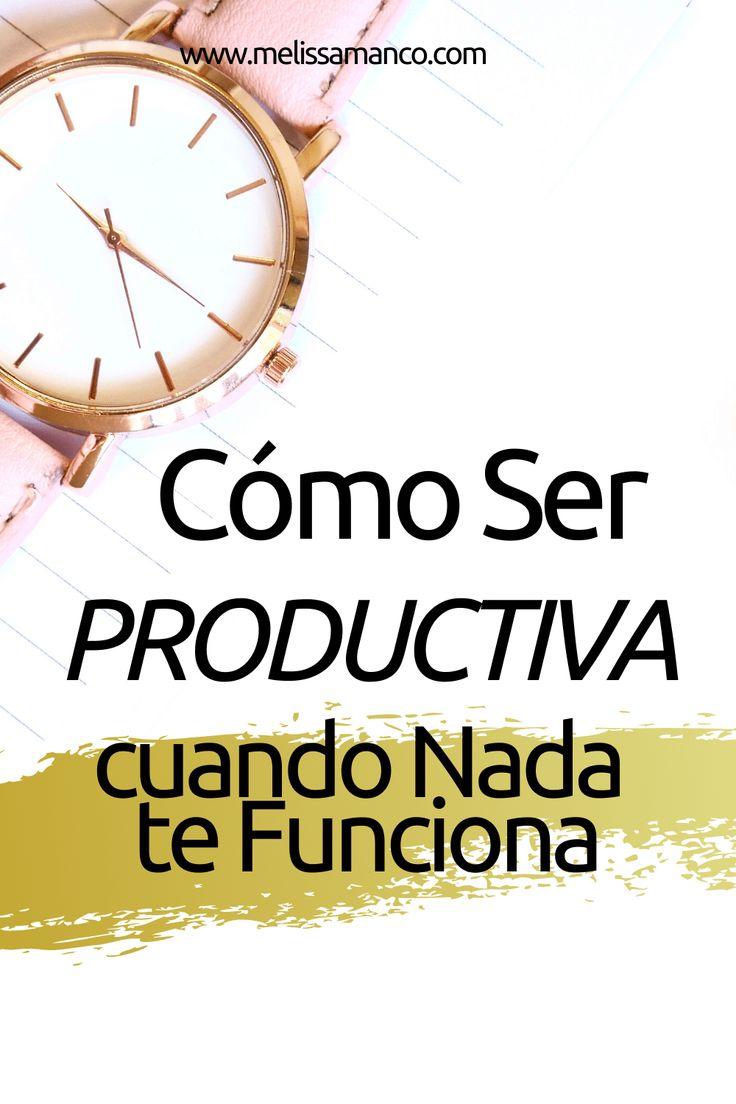 La entrada Cómo ser Productiva cuando NADA FUNCIONA! se publicó primero en Melissa Manco. Minimalist Lifestyle, Personal Development, Blog, Home, Shape, Vestidos, Childish Behavior, God First, Knowledge
