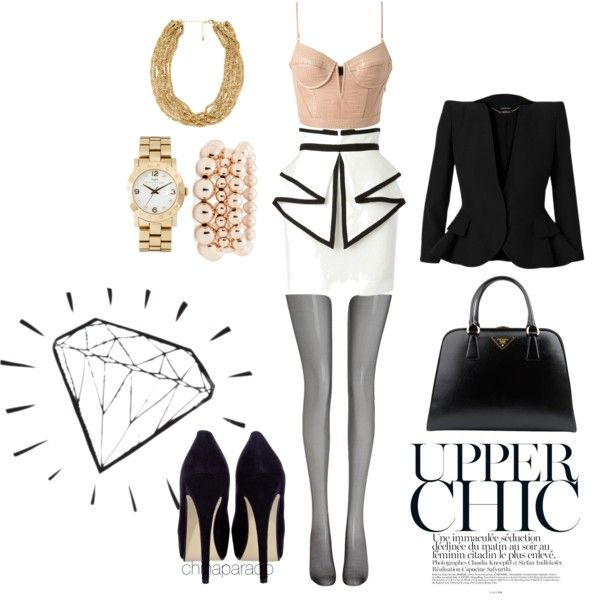 """Upper Chic"" by chinaparado on Polyvore"