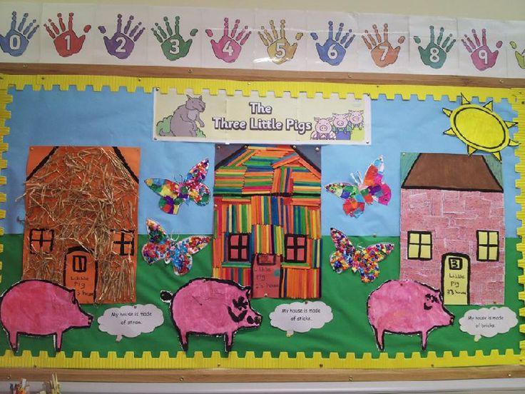 The Three Little Pigs classroom display photo - SparkleBox