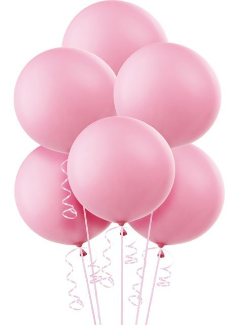 Big Round Balloons instead of the traditional oval shape make it seem a bit classier and pretty?
