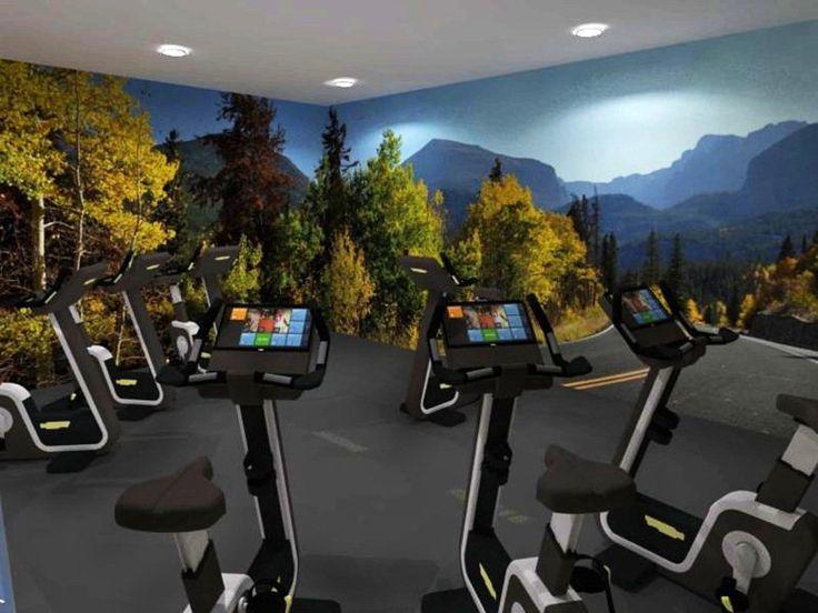 Centro Fitness BLUE LINE Wellness College, Riccione, 2014 - Anna Palucci