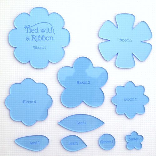 """""""Blooms Templates"""" designed by Jemima Flendt for Tied With A Ribbon."""