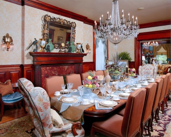 Traditional Dining Room Victorian Design Design