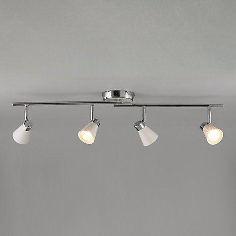Buy John Lewis Logan 4 Spotlight Ceiling Bar Online at johnlewis.com