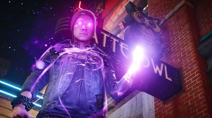 Infamous Second Son neon powers