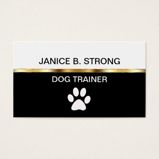 244 best dog trainer business cards images on pinterest business classy dog training business cards colourmoves