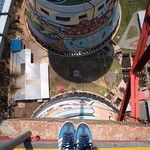 Bungee jumping at Orlando towers by @unclescrooch #GeePeeShotLeft