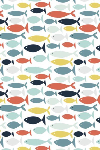 Jessica Hogarth - fish pattern