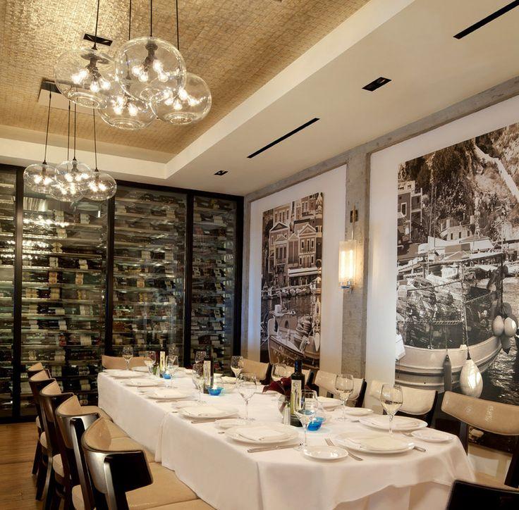 Elegant Private Wine Room  Milos  At The Cosmopolitan Las Vegas | Restaurants |  Pinterest | Vegas, Restaurants And Room