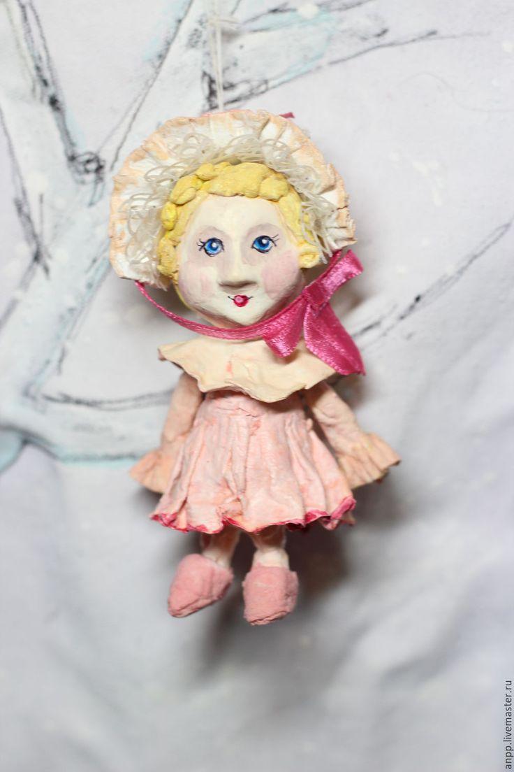 Купить ватная ёлочная игрушка Милочка - новый год 2017, новогодний подарок, игрушка елочная