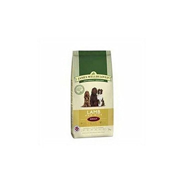 James Wellbeloved Adult Complete Dog Food with Lamb & Rice (2kg) (Pack of 2) -- Awesome products selected by Anna Churchill