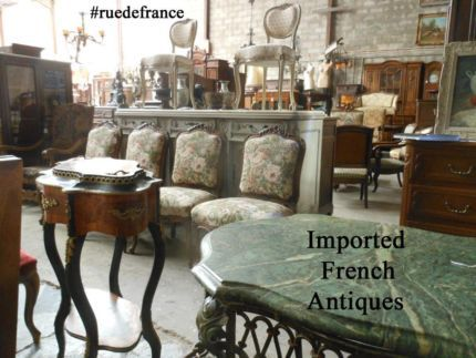 ANTIQUE & VINTAGE FRENCH IMPORTED ANTIQUES