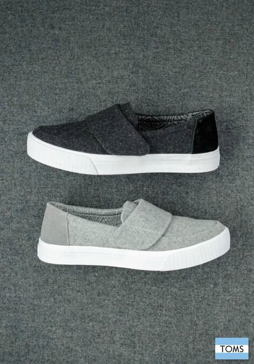 TOMS newest styles still give back in a big way.