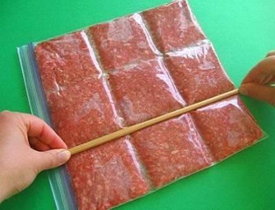 Como congelar carne moída