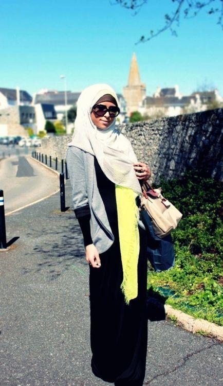 Saman's makeup and #hijab styles #hijabi #style #fashion