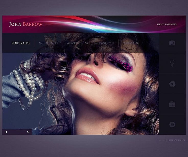 Personal Page #MotoCMS #PhotoGallery Template #53069 #html5 #css3 #zendOptimizer