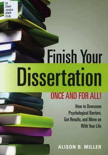 I need motivation to write my dissertation