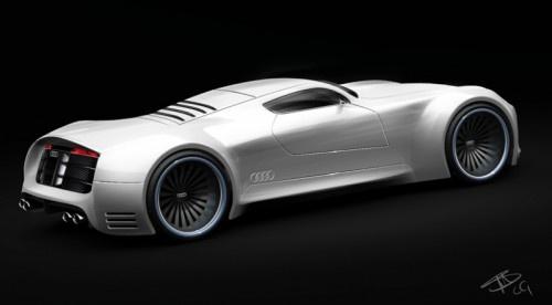 Audi R10 v10 Supercar