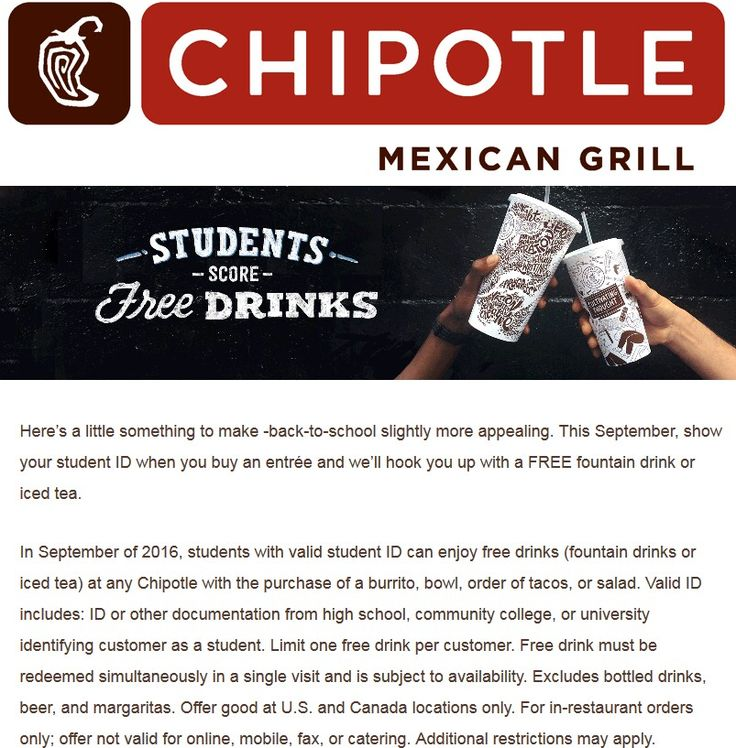 photo about Chipotle Coupons Printable named On line chipotle discount coupons - Staples cost-free shipping code