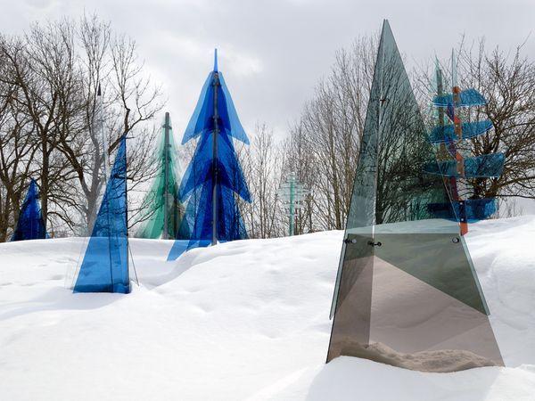 Glass sculptures - Bavarian Forest National Park, Germany
