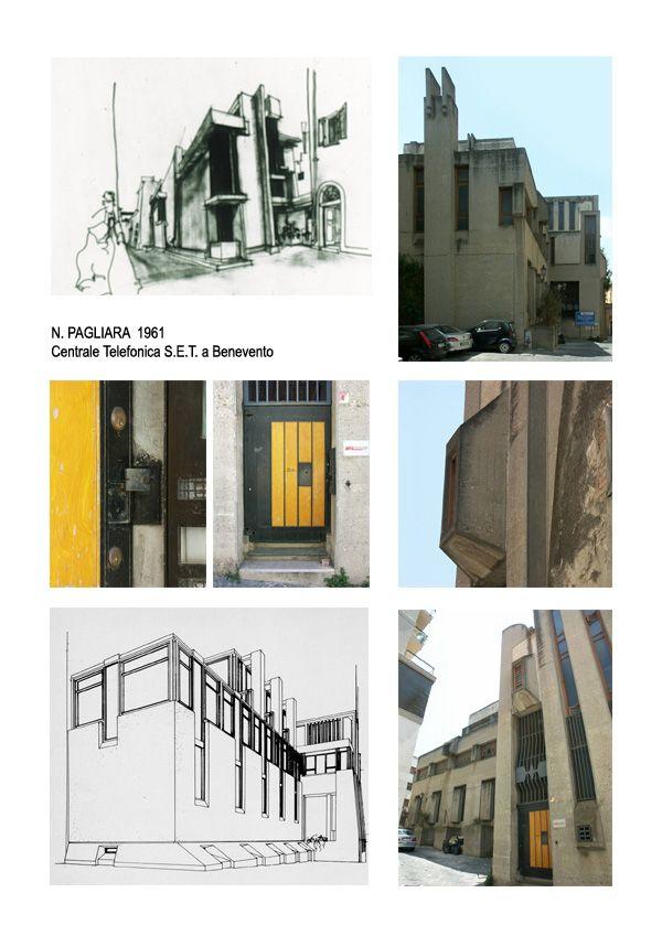 Centrale telefonica SET « Prof. Architetto Nicola Pagliara
