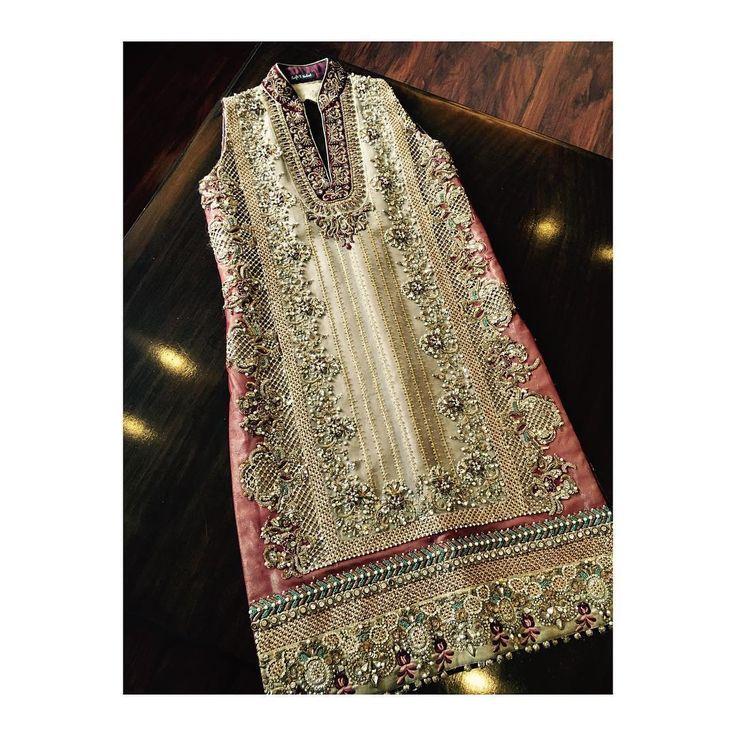 #Asifa&Nabeel#bridalcouture#designedbyAsifa&Nabeel#instore#2016
