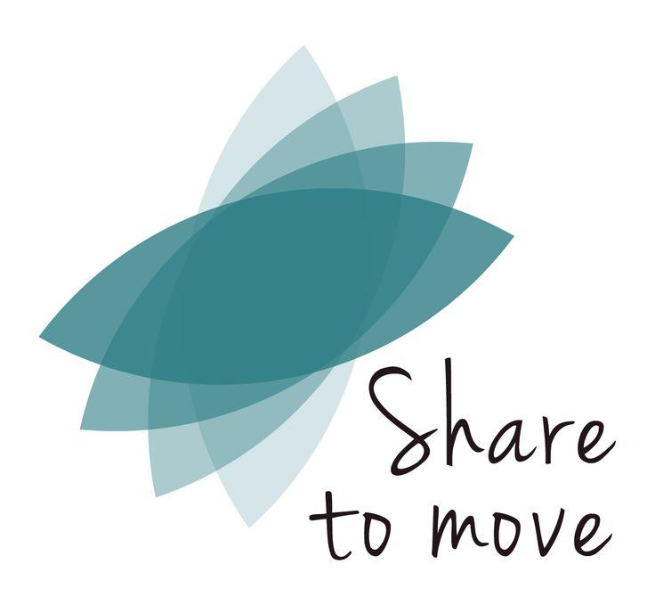 Logotype | identité visuelle | Share to move #logo #visualidentity