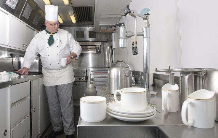 The Kitchen | Train, Kitchen, Buckingham palace
